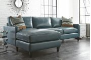 """St.Croix Right Arm Loveseat, 69""""x36""""x36"""" w/One Accent Pillow Product Image"""