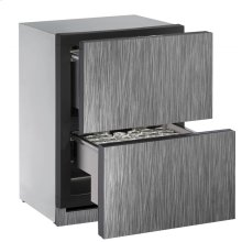 "24"" Solid Refrigerator Drawers Integrated Solid Drawers"