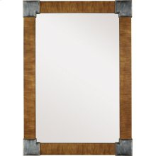 Fennell Mirror with Clear Mirror - Beeswing Primavera
