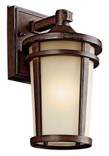 "Atwood 11"" 1 Light Wall Light Brownstone"