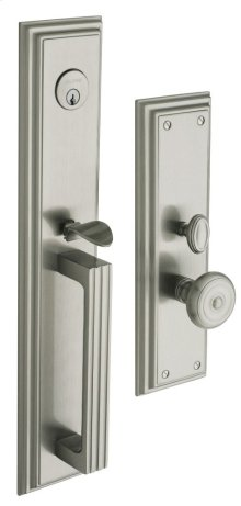 Satin Nickel with Lifetime Finish Tremont Entrance Trim