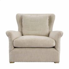 Winslow Lounge Chair Beige Linen