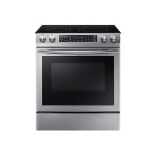 5.8 cu. ft. Slide-In Electric Range in Stainless Steel