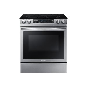 5.8 cu. ft. Slide-In Electric Range in Stainless Steel -