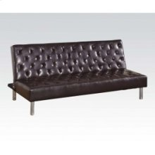 Brown Pu Adjustable Sofa @n