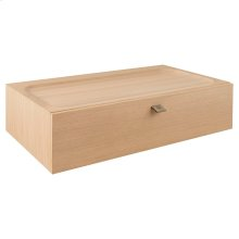 DXV Modulus 36-inch Wall-Mounted Drawer Unit - Natural Oak