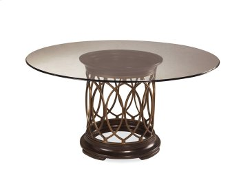 Intrigue Glass Top Dining Table Product Image