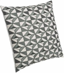 "Luxe Pillows Tile Embroidered Diamonds (23"" x 23"")"