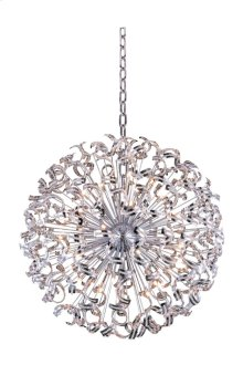 2068 Tiffany Collection Chandelier D:54in H:54in Lt:45 Chrome Finish (Elegant Cut Crystals)