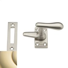 Lifetime Polished Brass Casement Fastener