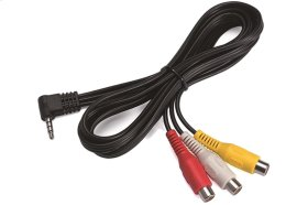 Audio/Video Input Cable *For more information