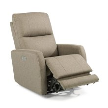 Sadie Fabric Power Recliner with Power Headrest