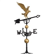 "46"" Eagle Weathervane - Bronze/Gold"