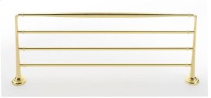 Charlie's Collection Towel Rack A6726-24 - Polished Brass