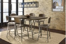 Adams 7 Piece Counter Height Dining Set