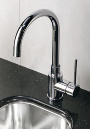 Blanco Meridian Bar Faucet - Polished Chrome