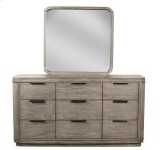 Precision Nine Drawer Dresser Gray Wash finish Product Image