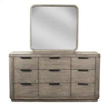 Precision Nine Drawer Dresser Gray Wash finish