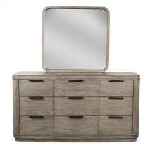 Precision Nine Drawer Dresser Gray Wash finish