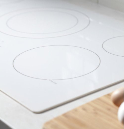 """GE® 36"""" Built-In Knob Control Electric Cooktop"""