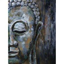 Buddha Face Wall Décor