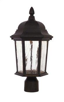 "9"" LED Post Lantern in Driftwood"