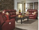 Double Reclining Loveseat with 2 Pillows Product Image