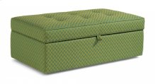 Daphne Fabric Rectangular Storage Ottoman