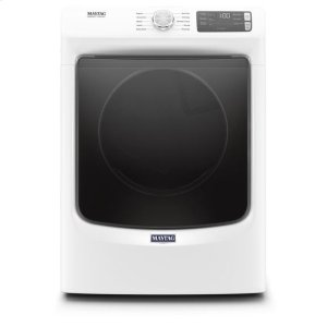 Maytag® Front Load Electric Dryer with Extra Power and Quick Dry cycle - 7.3 cu. ft. - White Product Image