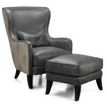 H066 Huntly Chair & Ottoman