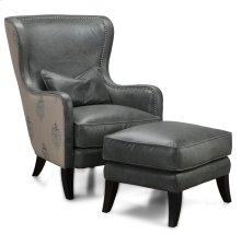 H066 Huntly Chair & Ottoman