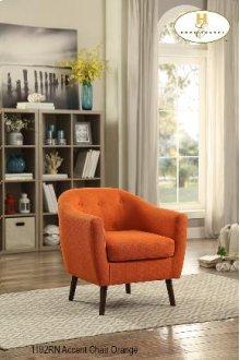 Burnt Orange Accent Chair