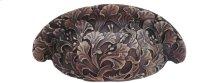 Florid Leaves - Antique Solid Bronze