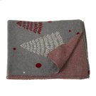 Mod Tree Knit Throw. Product Image