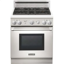 "Professional Series 30""  Gas Standard-depth Range - Porcelain Rangetop"