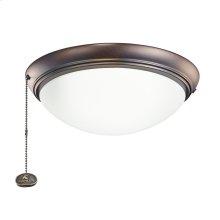 Oil Brushed Bronze LED fan fixture OBB