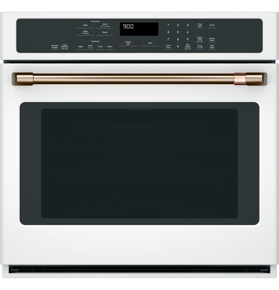 "Caf(eback) 30"" Smart Single Wall Oven with Convection