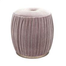 Bella Velvet Upholstered Ottoman