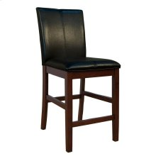 Curved Back Parson Stool-Black