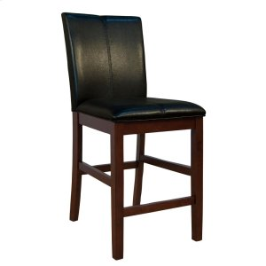 A AmericaCurved Back Parson Stool-Black