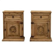 """Left : 22"""" x 16"""" x 30"""" Mansion Nightstand with Star Product Image"""