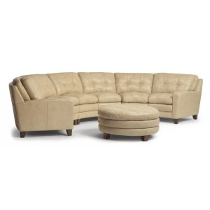 South Street Leather Sectional