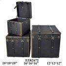 "S/3 12X12X12,16X16X16,19X19X19"" BOX, 1 SET/ 5.66' Product Image"