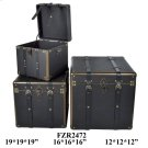 "S/3 12X12X12,16X16X16,19X19X19"" BOX, 1 SET/ 5.66' Product Image"