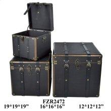 """S/3 12X12X12,16X16X16,19X19X19"""" BOX, 1 SET/ 5.66'"""