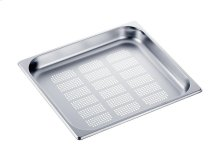 DGGL 13 Perforated steam oven pan For blanching or cooking vegetables, fish, meat and potatoes and much more