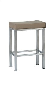Seattle BSS501H26XB Stainless Steel Non Swivel Backless Bar Stool Product Image