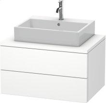 Delos Vanity Unit For Console, White Matt