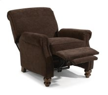 Bay Bridge Leather High-leg Recliner without Nailhead Trim