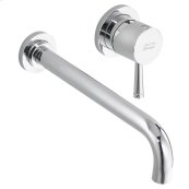 Serin 1-Handle Wall-Mount Bathroom Faucet - Polished Chrome